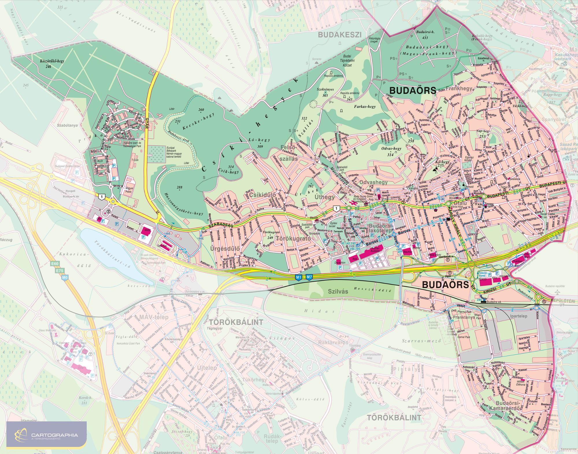 budaörs térkép Btg.hu budaörs térkép